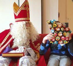 Sinterklaas bij Job