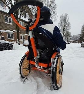 Job in de sneeuw